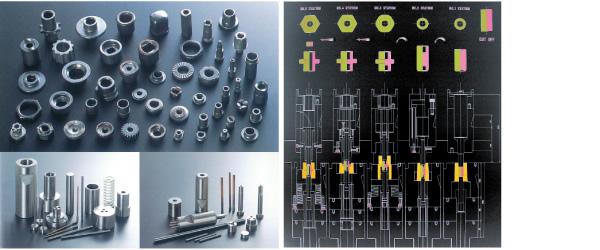 パンチ・ピン製作の蓄積されたノウハウを駆使し圧造用工具の最適なツールデザインを設計